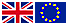 UK and Europe flag for Natural Dog Remedies